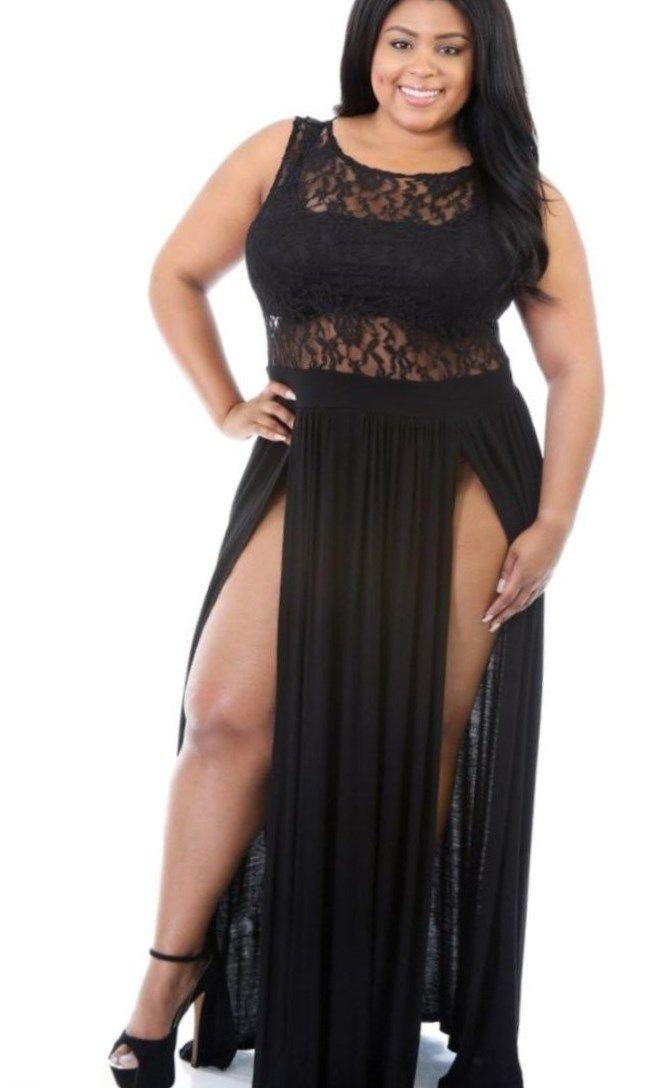 cec00b253e59 Sexy plus size lace dresses - https   letsplus.eu mini-