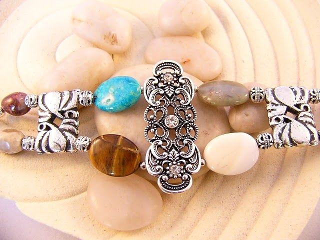 Unique Stone Bracelet