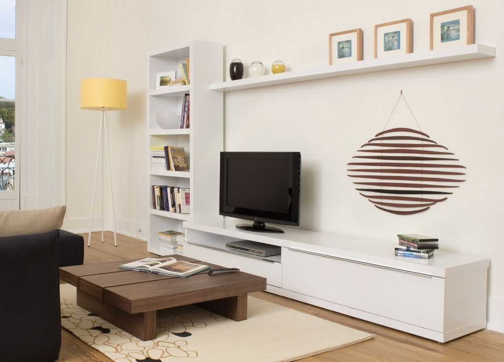 white lacquered bookcase wall tv cabinet design valley tv unit - Designer Wall Units For Living Room