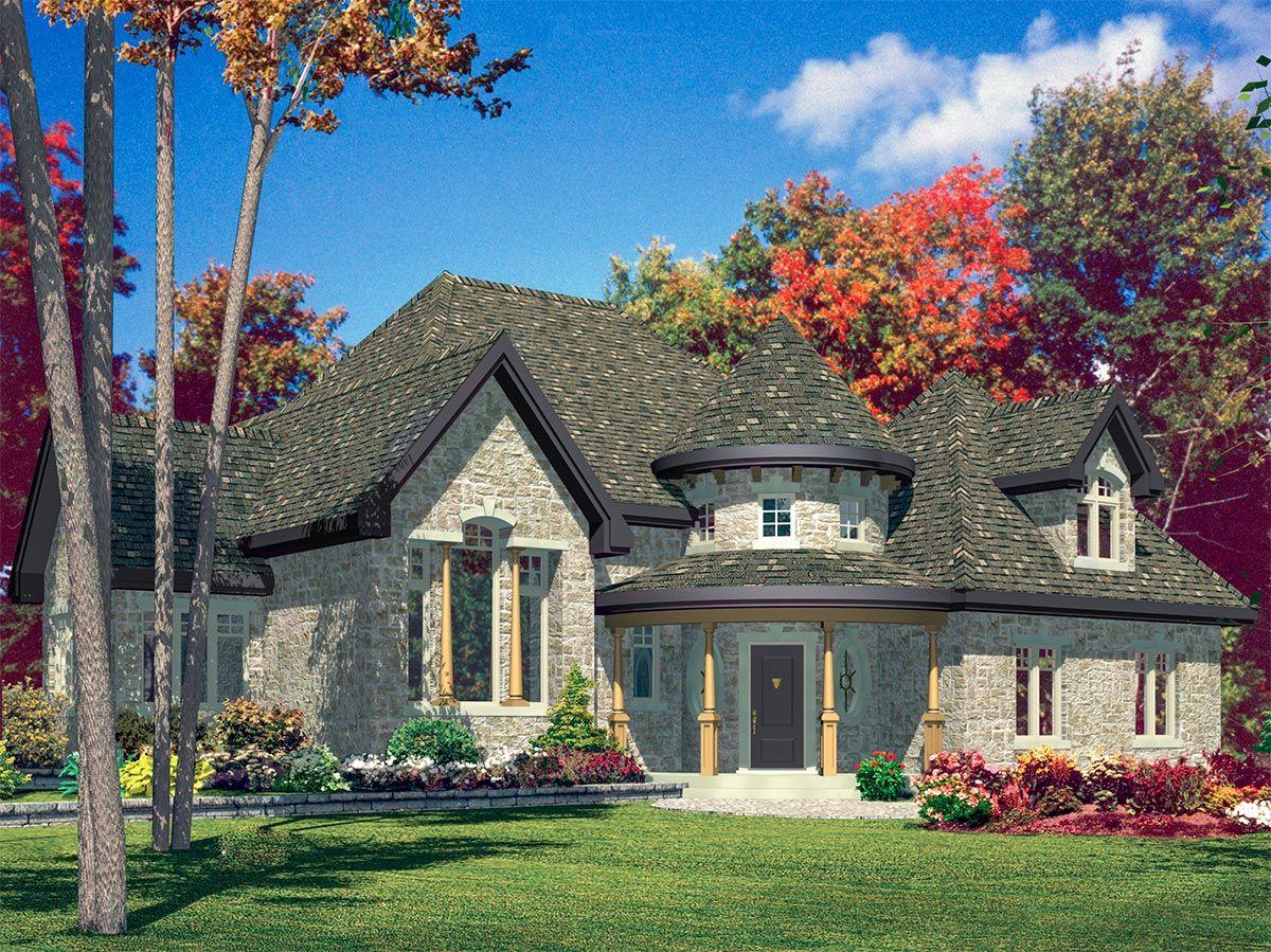 Plan 9041pd Stone Mini Castle Victorian House Plans Bungalow House Plans Modern Farmhouse Plans