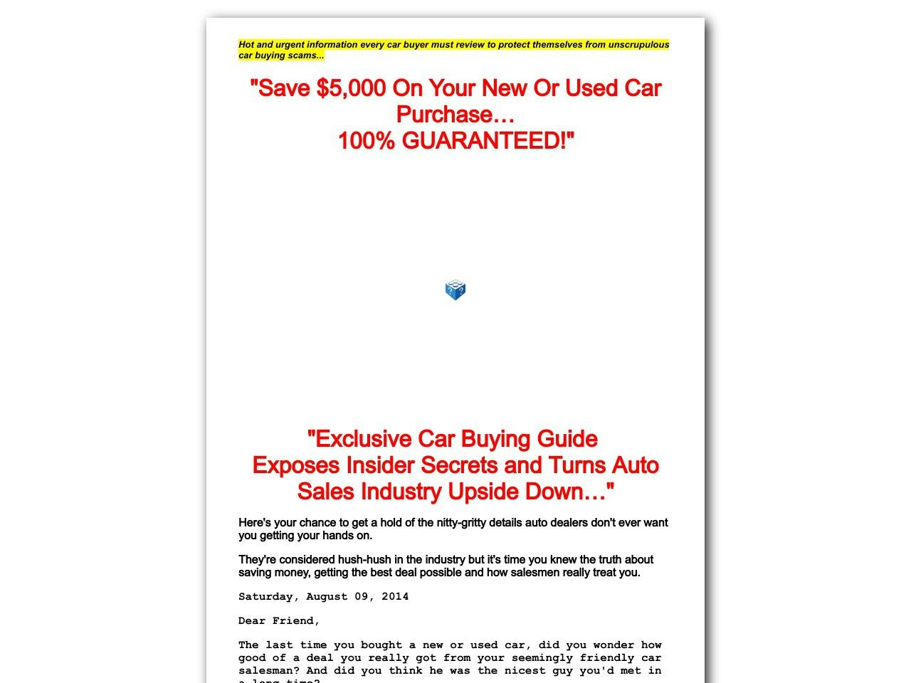 Car Buying Scams Http Www Vnulab Be Lab Review E2 91 A0