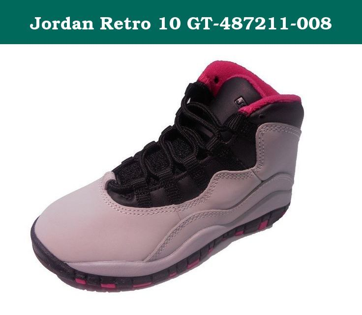 buy online f1125 7e0af Jordan Retro 10 GT-487211-008. Nike Girls Girls Air Jordan ...