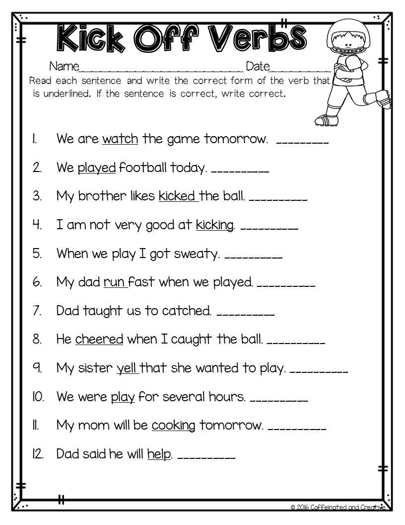How To Survive February As A Teacher Tips Books Ideas And More First Grade Words Reading Comprehension Worksheets Teaching Verbs [ 1056 x 816 Pixel ]