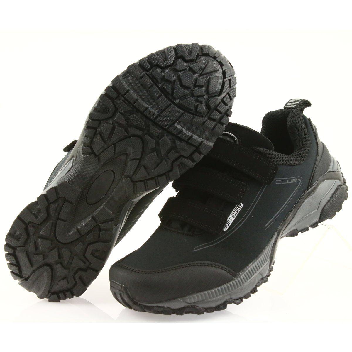 American Club Adi Buty Damskie Sportowe Na Rzepy American Wodoodporne Softhell Wt08 19 Czarne Shoes Fisherman Sandal Sandals