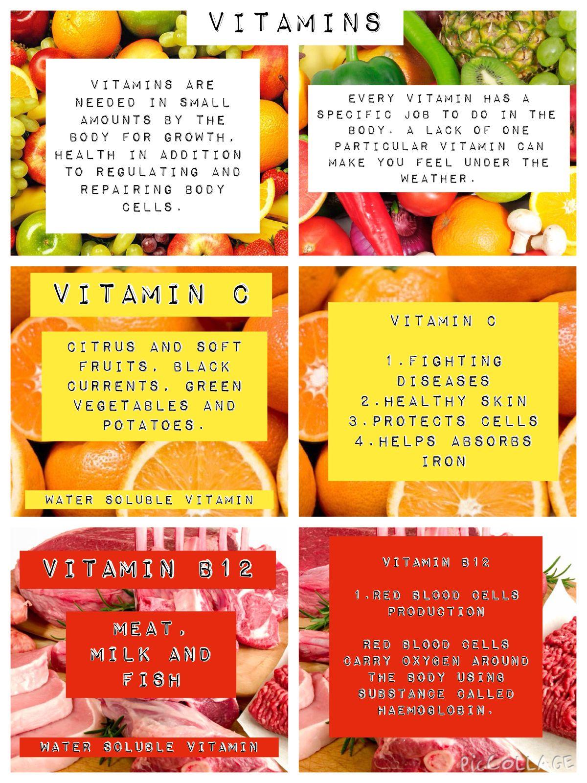 Vitamin C Amp B12