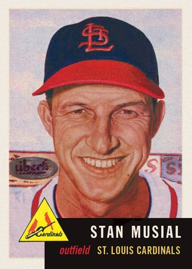 Cards That Never Were Baseball Cards Stan Musial Cardinals Baseball
