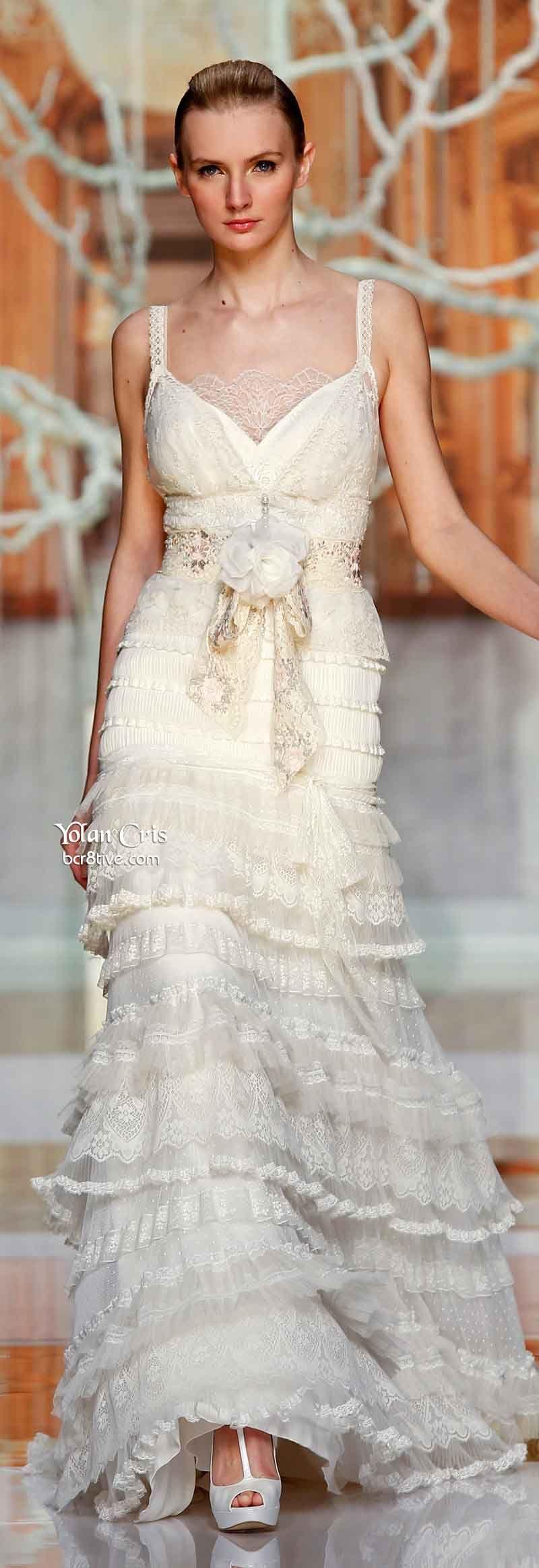 Yolan cris ethereal evanescence spring bridal collection