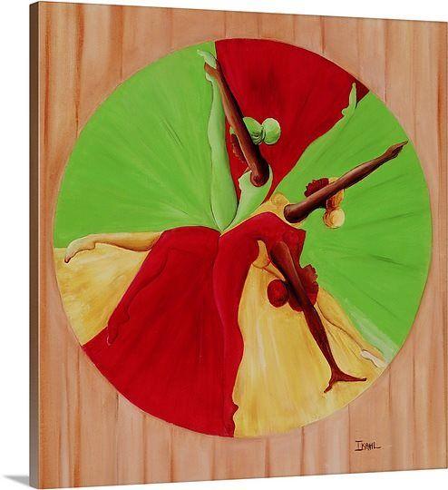 Dance Circle, 2002 (oil on canvas) Exeptional!