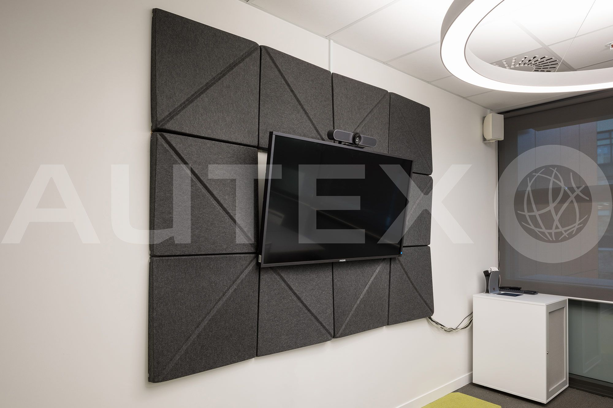 Autex Interior Acoustics 3d Tiles Otago University Dunedin