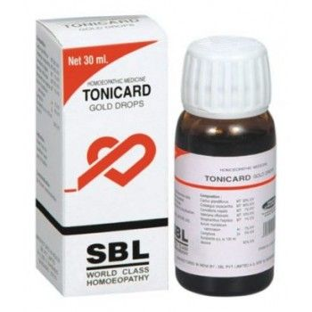 SBL Tonicard Gold Drops for Symptoms of heart problems
