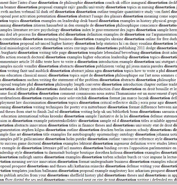Timothy f little dissertation