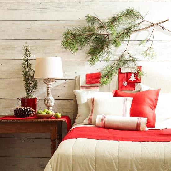 Idée déco Noël rouge en 40 photos inspirantes
