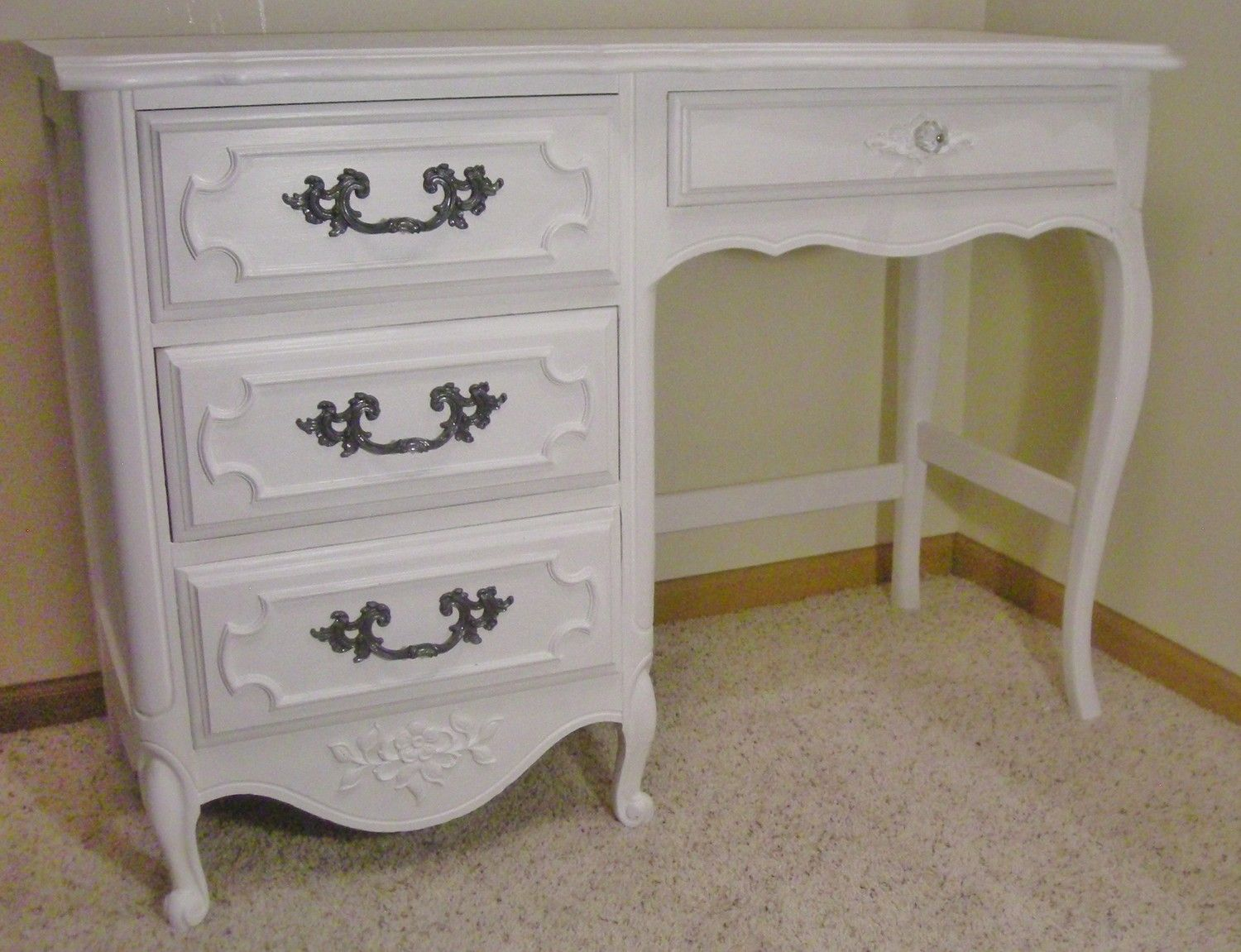 White French Provincial Desk, French Provincial Desk - Gamesfreez.com - White French Provincial Desk, French Provincial Desk - Gamesfreez