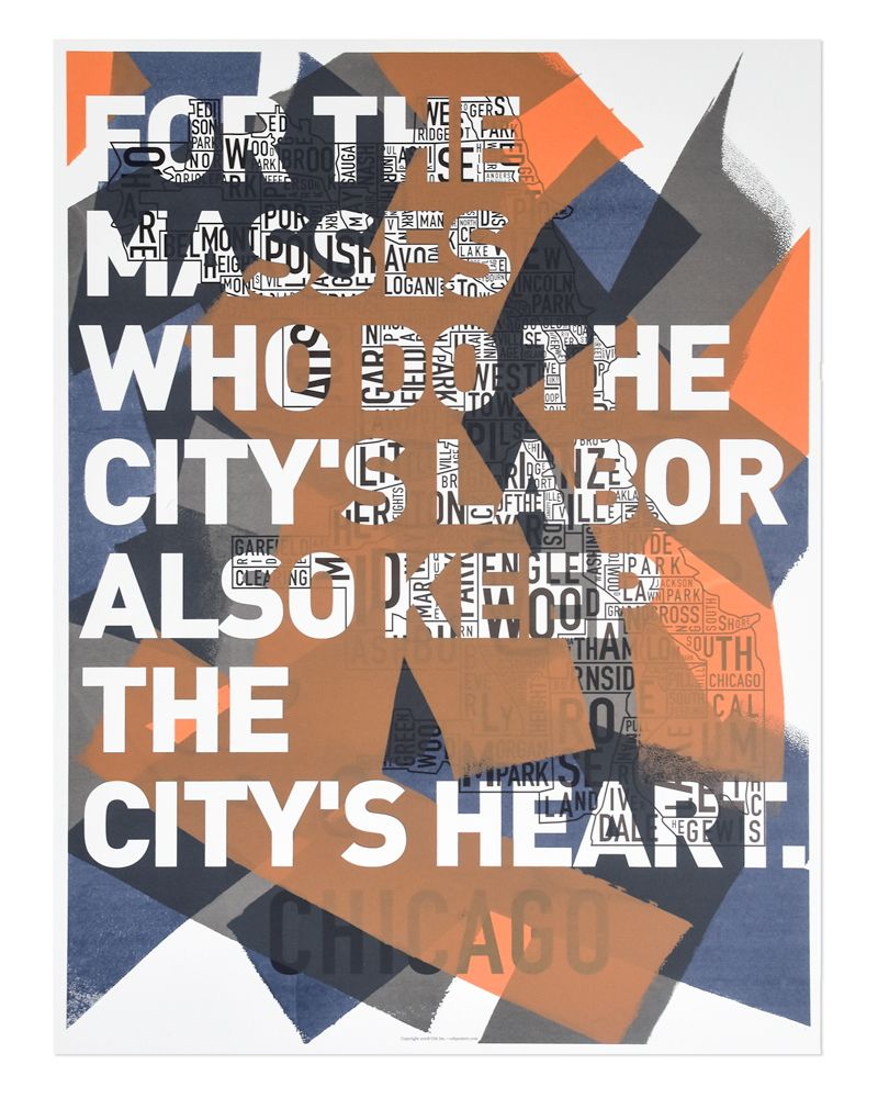 chicago 10th anniversary limited edition print | limited edition
