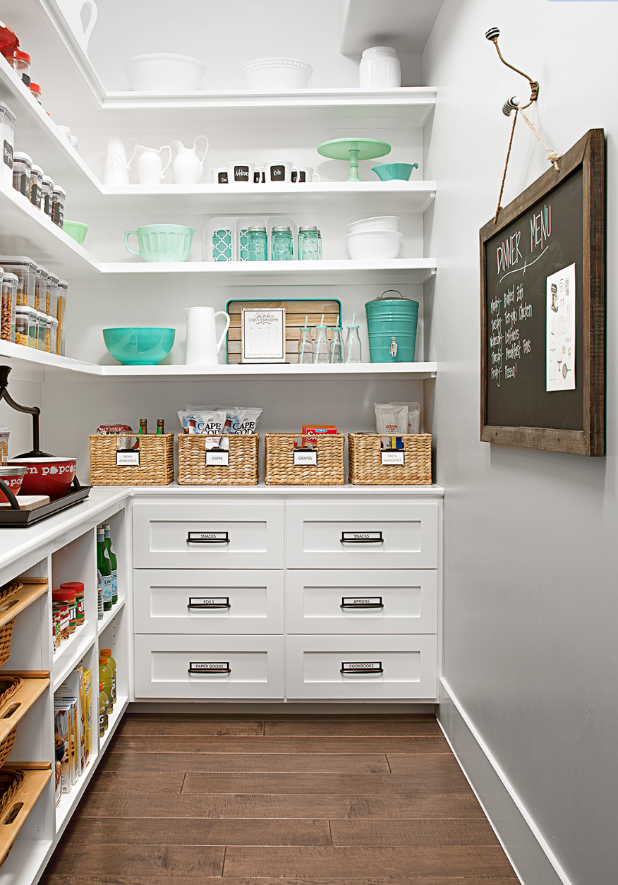 The 9 Most Inspiring Pantry Designs On Pinterest   Sanctuary Home ...