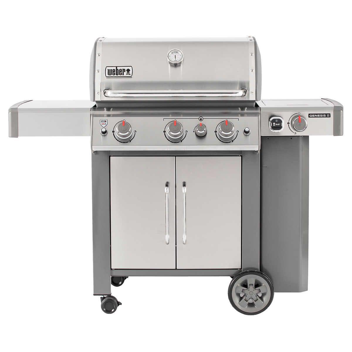 Weber Genesis Ii S 345 3 Burner Gas
