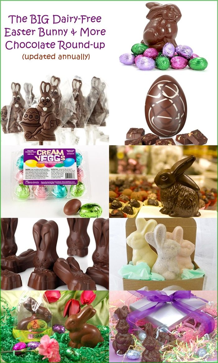 The dairy free chocolate easter bunny and more round up nut free the dairy free chocolate easter bunny and more round up negle Image collections