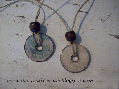 washer necklaces!