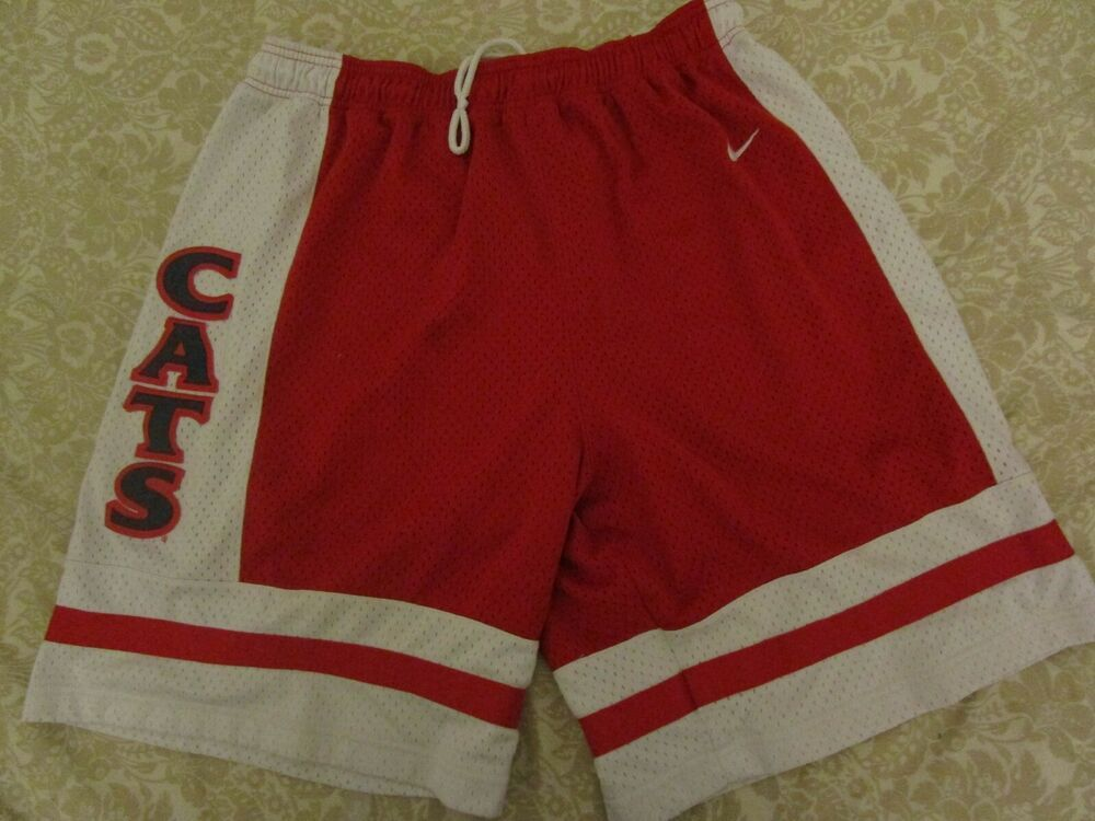 Vtg 90s Nike Arizona Wildcats Mens 2xl Team Zona Mesh Basketball Shorts Cats College-ncaa
