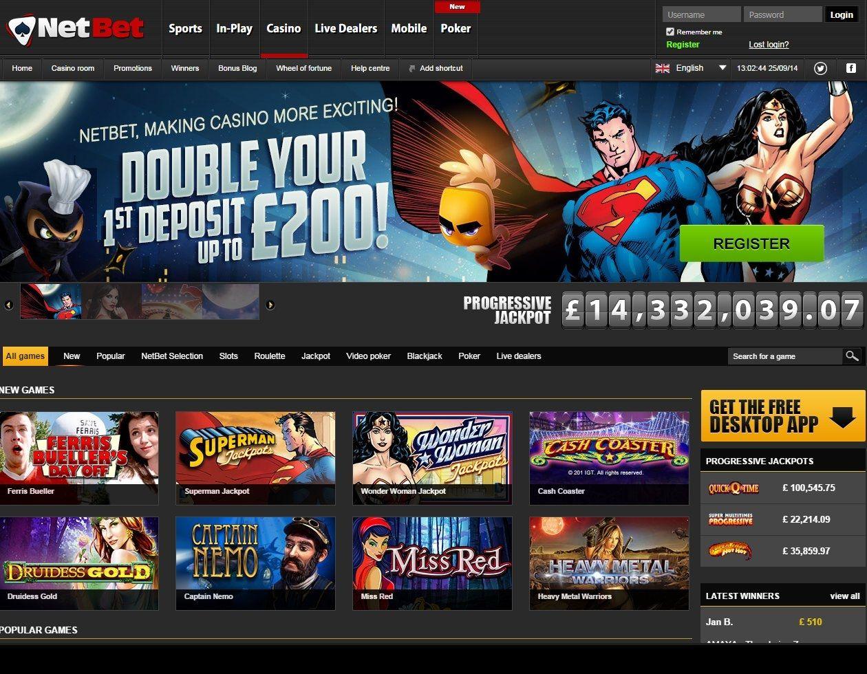 Bonus Code Netbet Casino