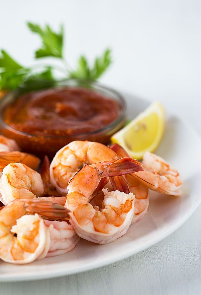 Easy Shrimp Cocktail | theblondcook.com
