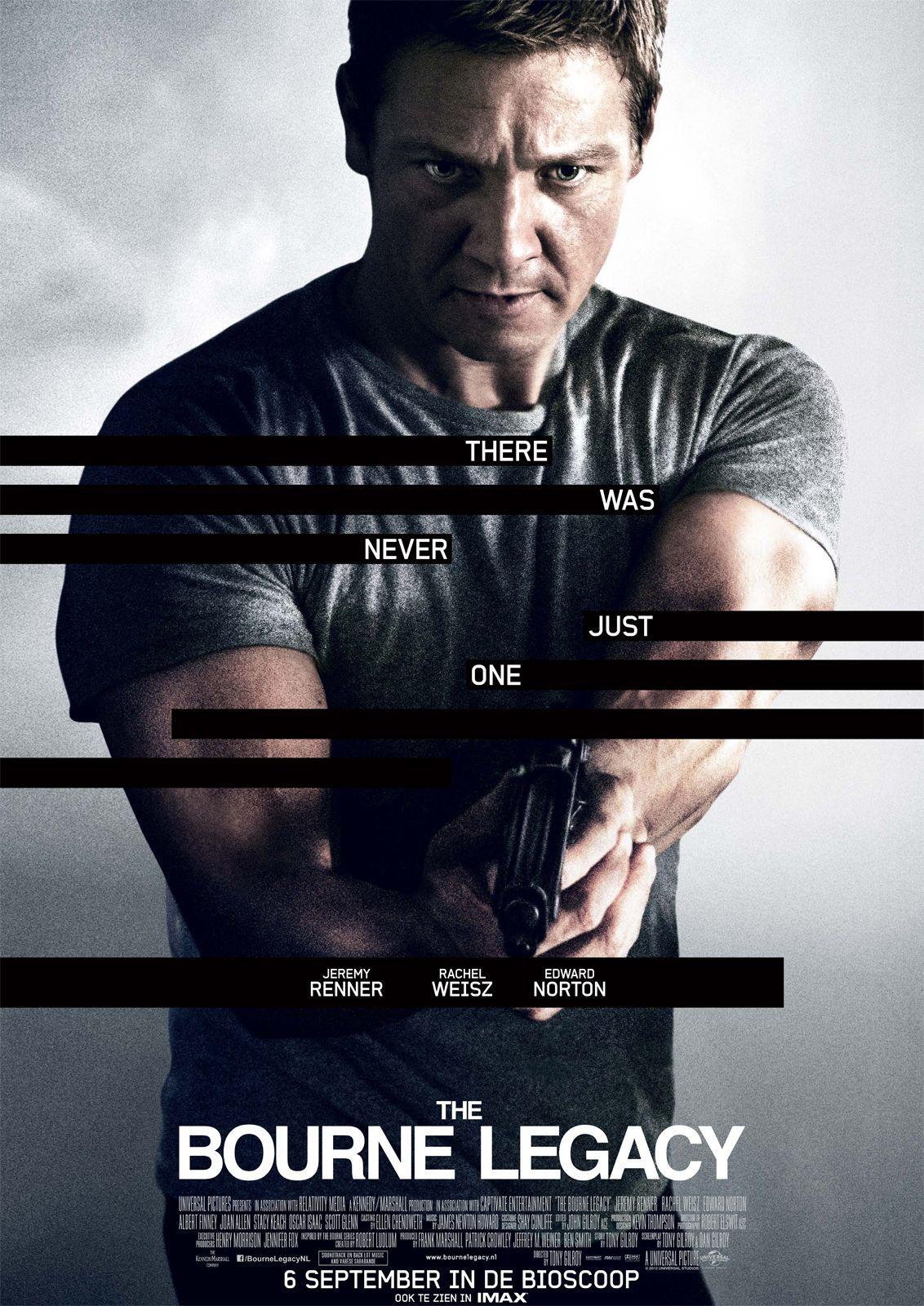 The Bourne Legacy 2012 Jeremy Renner Bioscoop Film