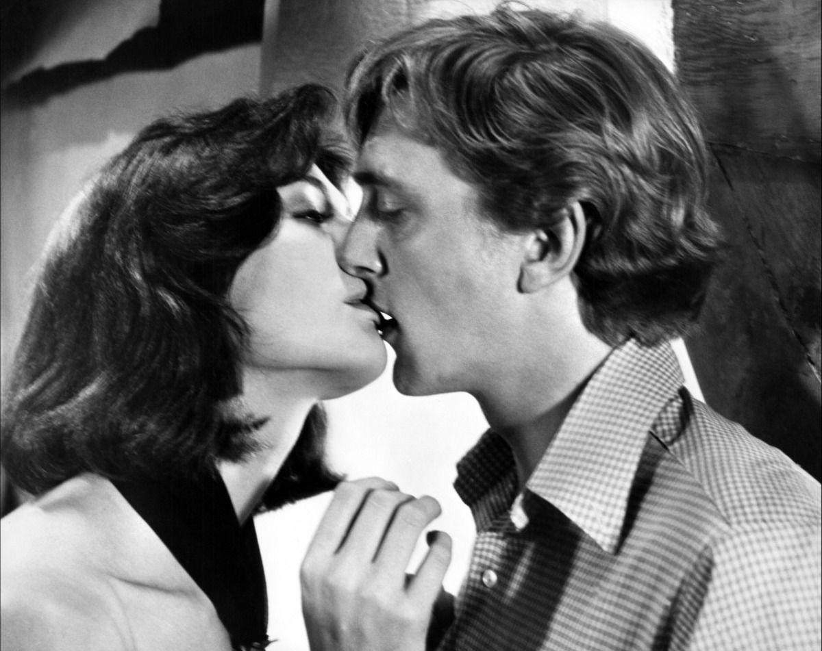 "Vanessa Redgrave & David Hemmings in Antonioni's ""Blow-Up""."