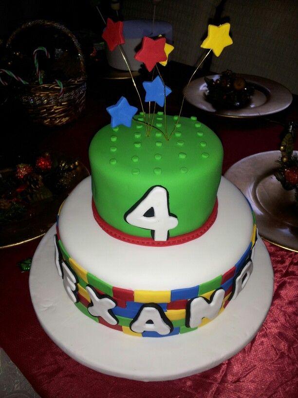 Lego cake by www.lillyskitchen com    (786)3584339
