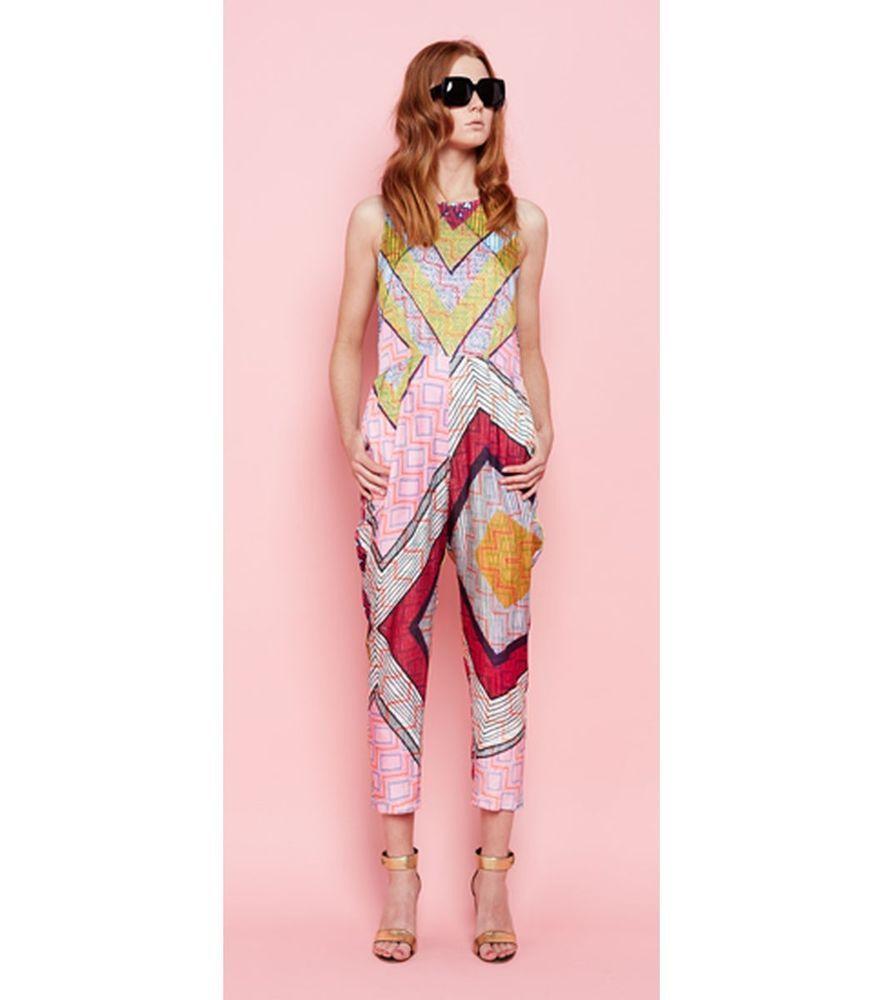 Beautiful GORMAN x Kate Kosek  Bizzy Bizzy  jumpsuit pantsuit - size 12