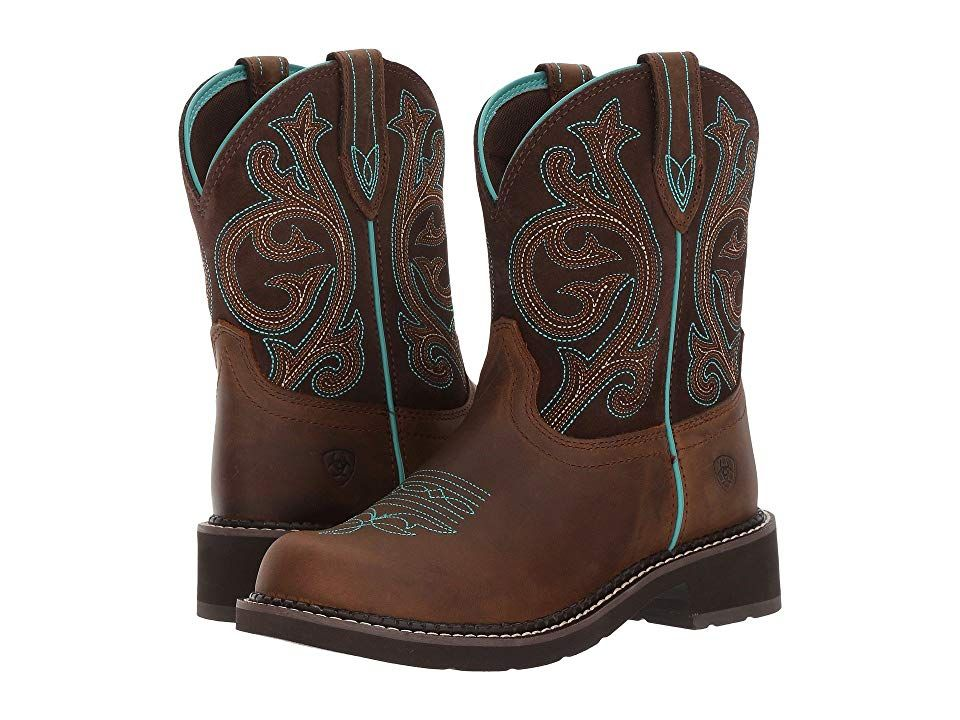 13ae81bb2df Ariat Fatbaby Heritage (Distressed Brown/Fudge) Cowboy Boots. Stay ...