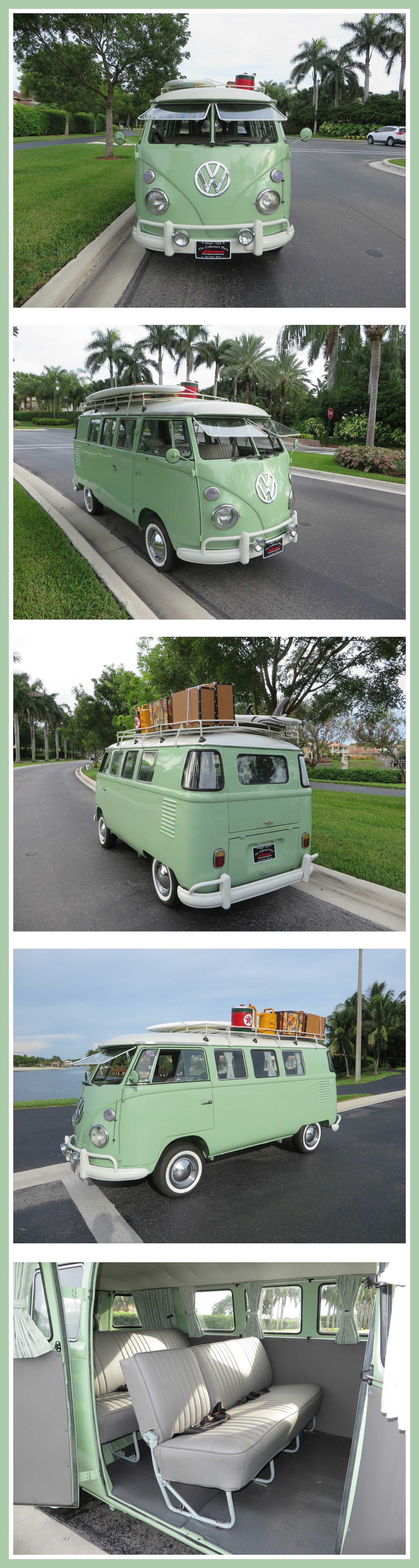 You are looking at a 1960 VW bus from Brazil.  15 window Kombi located in Miami- Florida . ◉ pinned by http://www.waterfront-properties.com/dadecountyrealestate.php