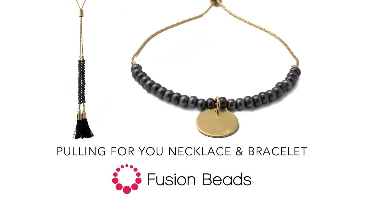Pulling The Chain Fascinating Learn How To Create The Pulling For You Bracelet And Necklace Set 2018