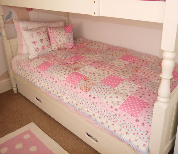 Handmade Patchwork Quilt Single Bed Size Patchwork Quilts Bed Quilt Patterns Cath Kidston Fabric