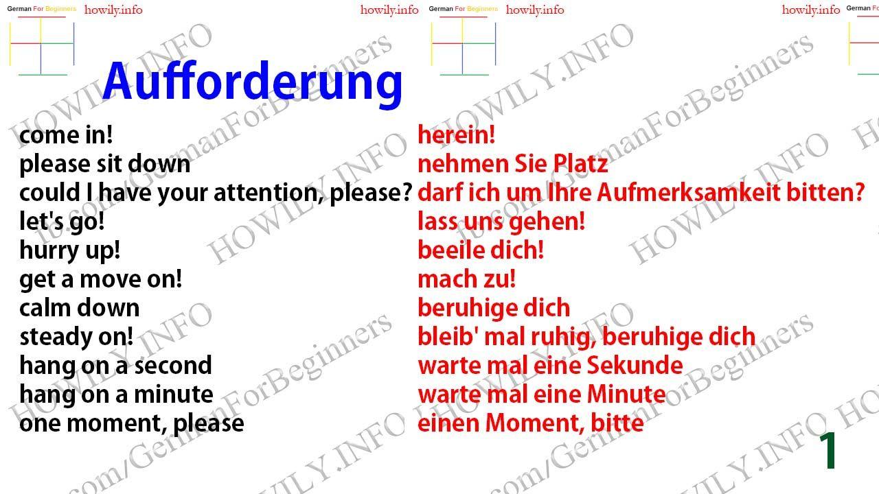 Let It Be Auf Deutsch