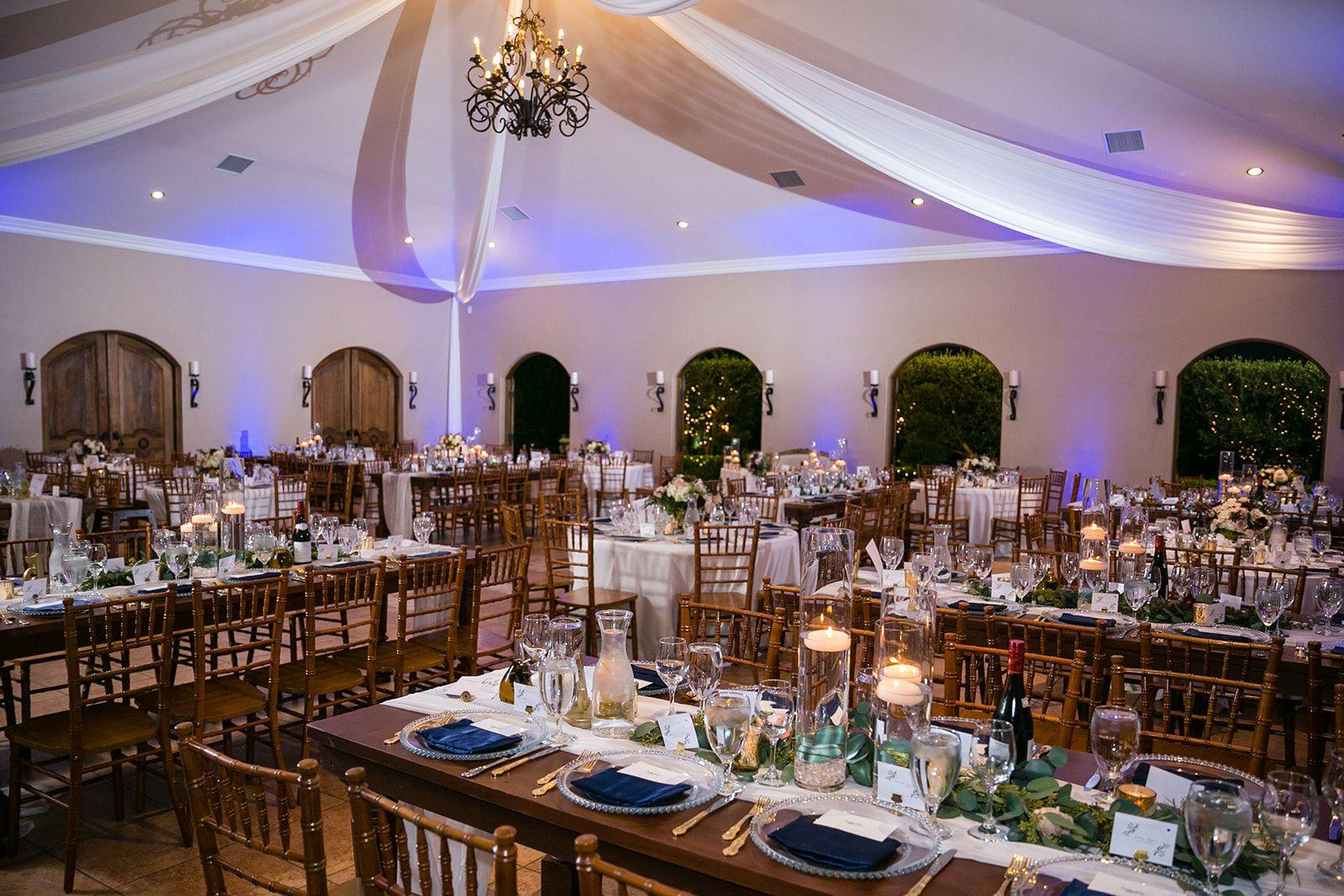 Reception Site Villa De Amore Wedding Venue In Temecula Cal California Wedding Venues Wedding Photography And Videography Orange County Wedding Photographer