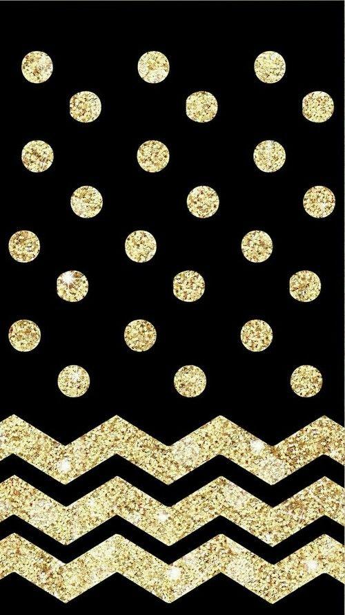 Black And Gold Sfondi Iphone Sfondo Leopardato Sfondi