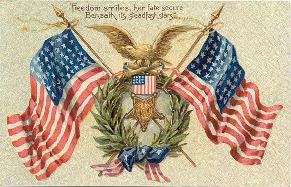 Free Vintage Post Cards for Memorial and Veterans Day | Patriotic pictures,  Patriotic images, Memorial day