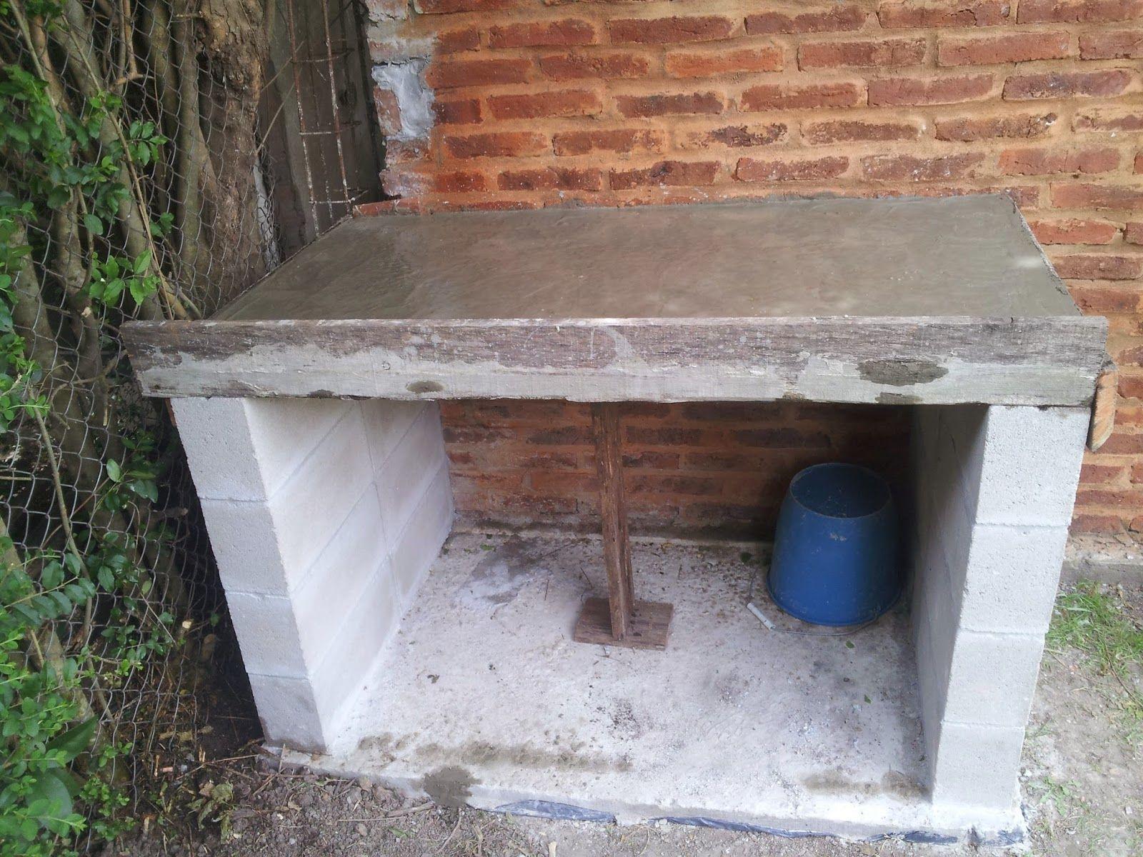 Como hacer una parrilla paso a paso casa outdoor decor for Como hacer una pileta de material paso a paso