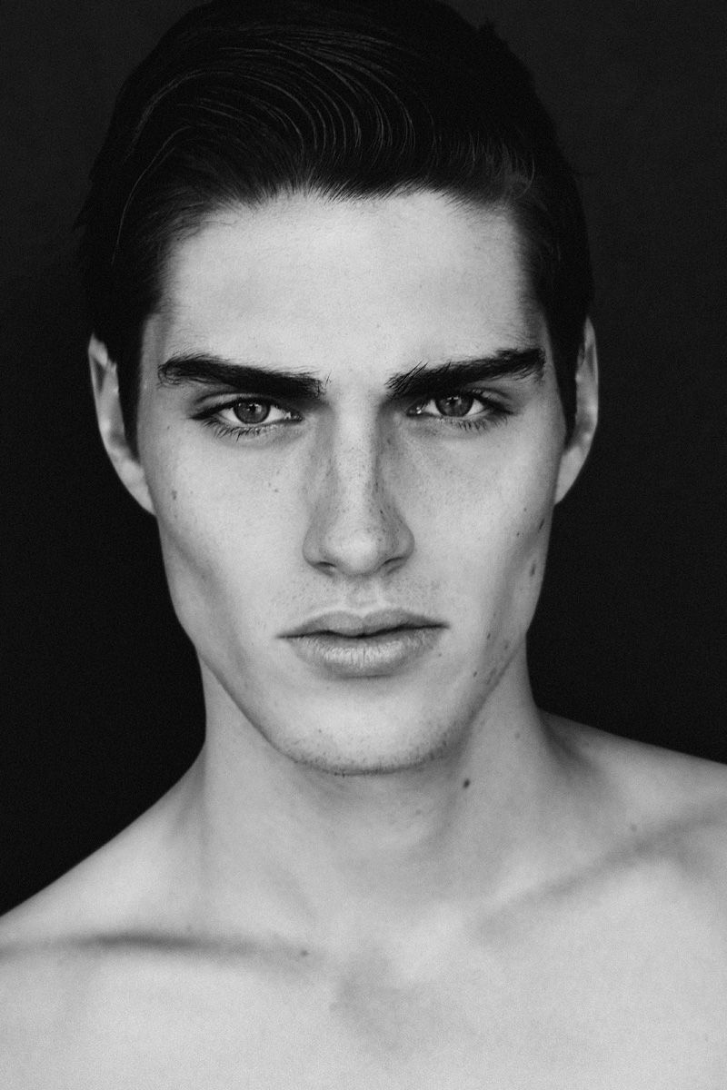 Ben by Alex Evans  Dark hair light eyes, Black hair pale skin