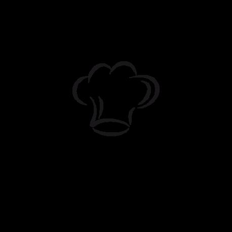 Sticker Toqué De Cuisine Un Joli Texte Déco Pour Décorer