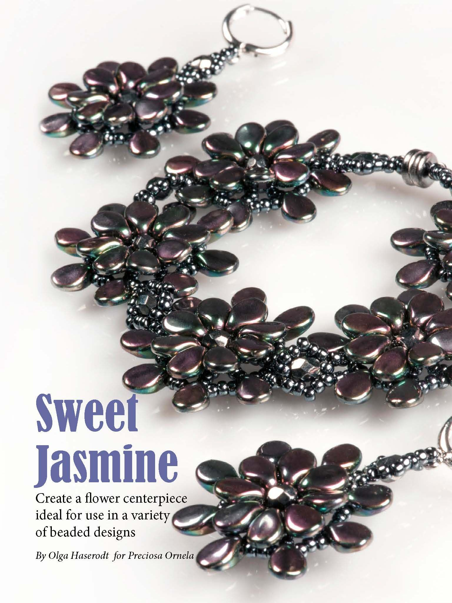 P This design feature Preciosas new Pip beads get it here http