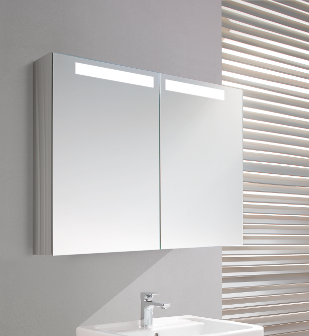 Villeroy boch reflection spiegelkast 80 cm badkamer for Spiegelkast 80 cm