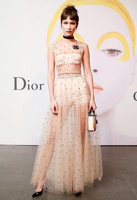 Star tulle sheer dress Rockabilly dress
