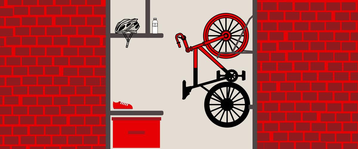 Customer Creates Awesome Bike Storage Bike
