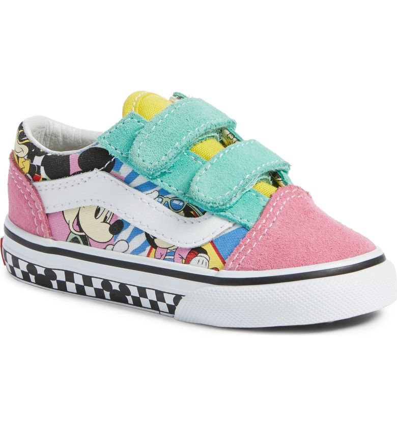 6bd1295195 Free shipping and returns on Vans x Disney Old Skool V Sneaker (Baby ...
