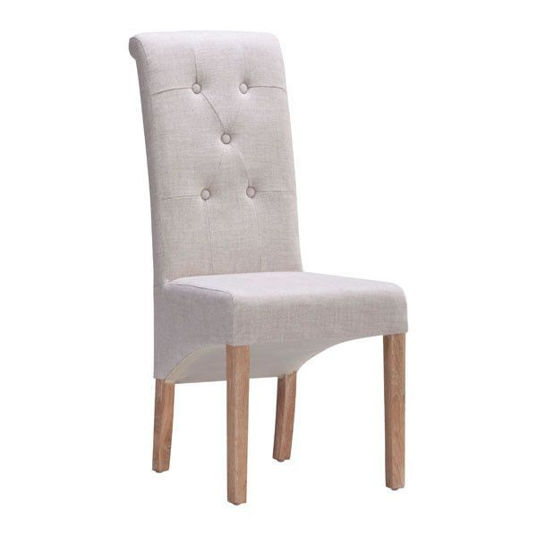 HAYES VALLEY DINING CHAIR BEIGE (Set of 2)
