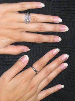 I Love The Idea Of Using A White Nail Pencil Under Tips Your Nails For Natural French Manicure D To Try It Maybe Can Find