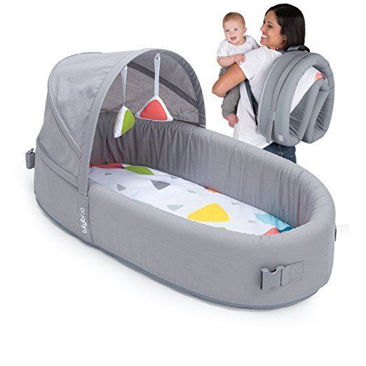 Bassinet To Go Metro Portable Infant Bed Folds Into Backpack