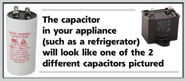 How To Test A Refrigerator Run Capacitor Diy Appliance