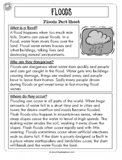 natural forces floods 1pg teaching ideas natural disasters floods flood information. Black Bedroom Furniture Sets. Home Design Ideas